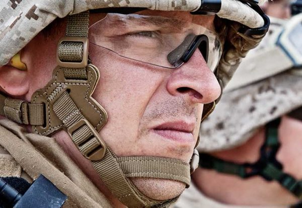 Soldier with Earplug